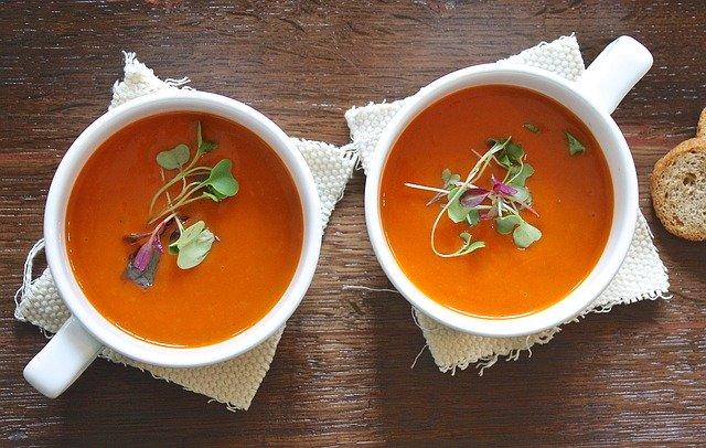 Régime 100% soupe.