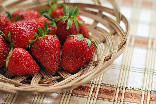 les fraises pour maigrir