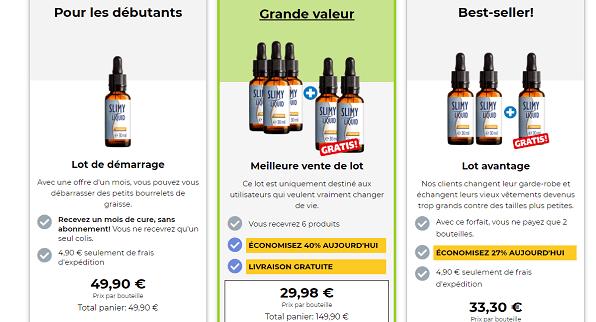 tarif slimy liquid
