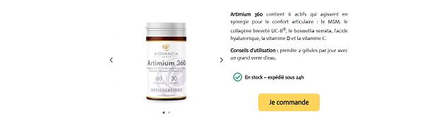 test artimium 360